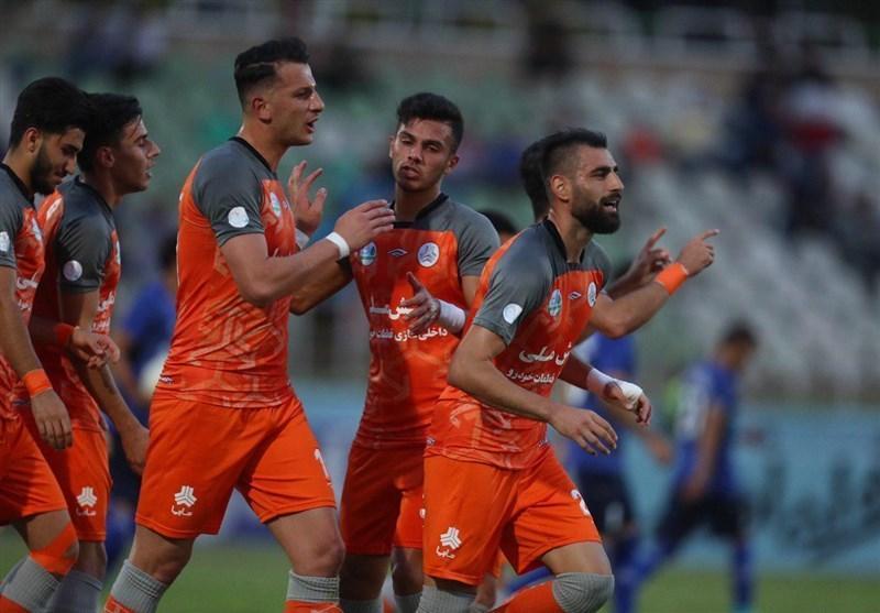 جام حذفی فوتبال، پیروزی سایپا مقابل داماش در نیمه نخست
