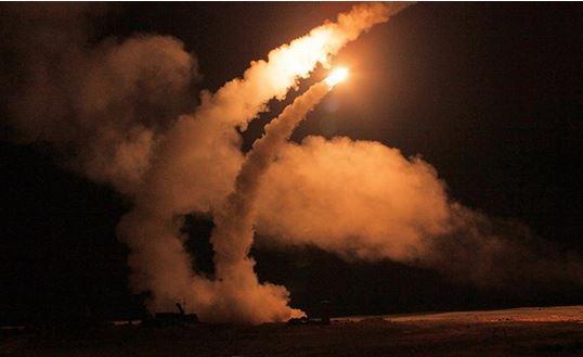 آزمایش پیروز اس 500 در سوریه