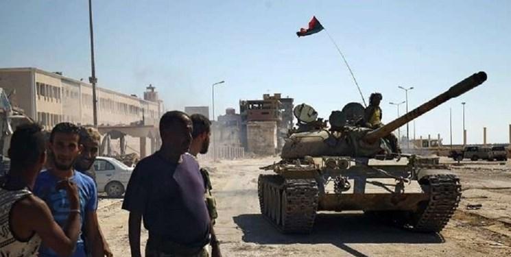 درگیری نیروهای حفتر با نیروهای دولت وفاق ملی در جنوب پایتخت لیبی