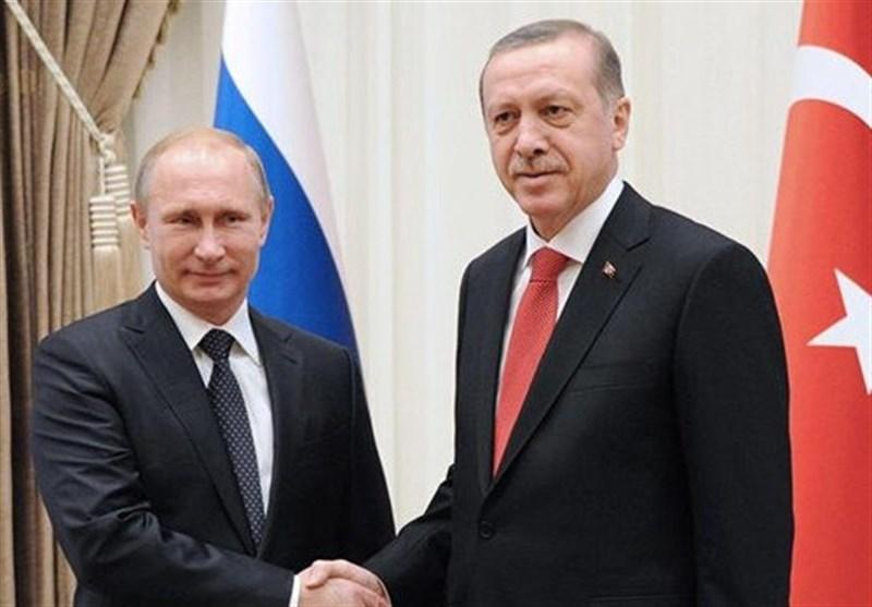 گفت وگوی تلفنی اردوغان و پوتین درباره شرق فرات