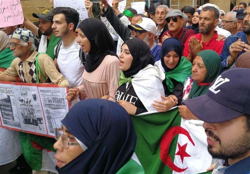 تظاهرات دانشگاهیان و مردم الجزایر در سی و پنجمین هفته پیاپی
