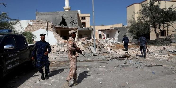 لیبی، زخمی شدن سه غیرنظامی در تازه ترین حمله نیروهای حفتر
