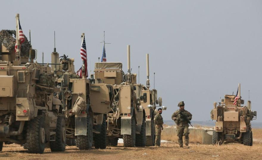 استقرار مجدد نیرو ها و تجهیزات آمریکایی در خاک عراق