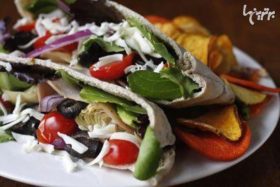طرز تهیه انواع ساندویچ سرد
