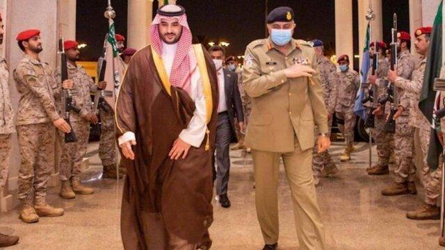 محمد بن سلمان ملاقات با رئیس ستاد مشترک ارتش پاکستان را نپذیرفت