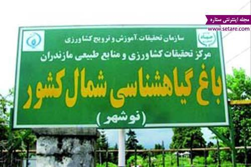 آشنایی با جاذبه های گردشگری نوشهر