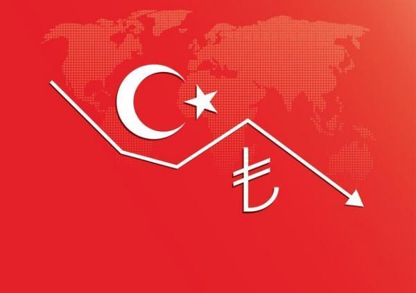 لیر ترکیه در سراشیبی