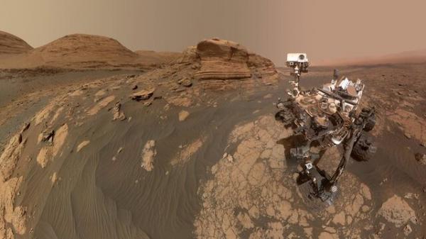 سلفی جدید مریخ نورد کنجکاوی خبرنگاران